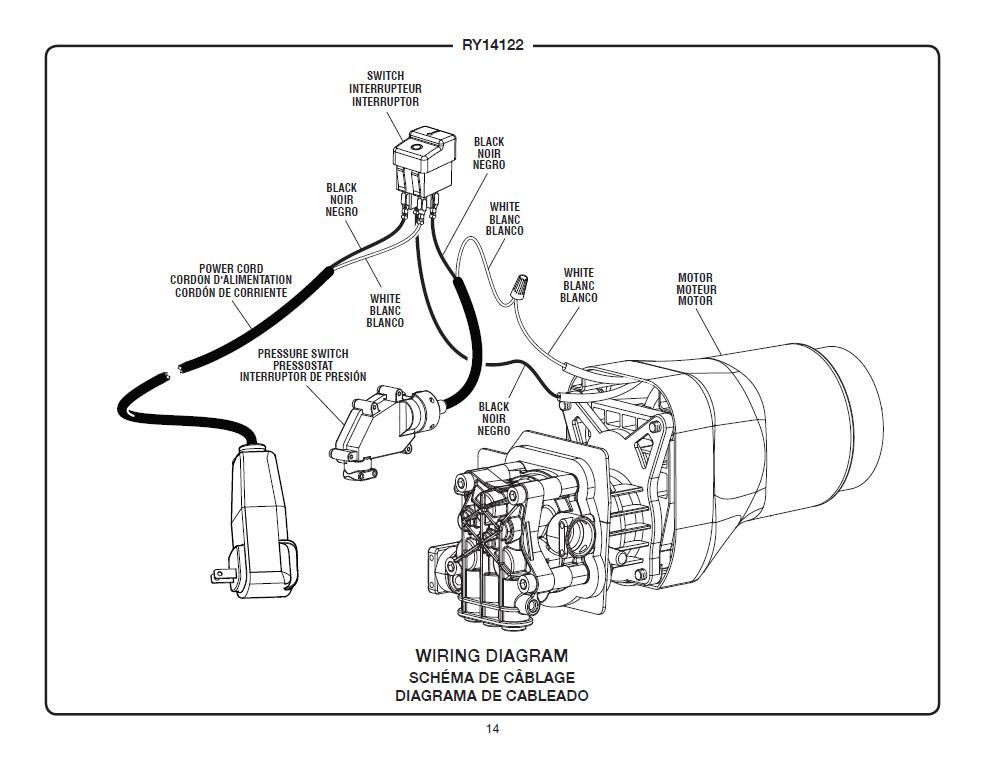 Head Generator Wiring Diagram